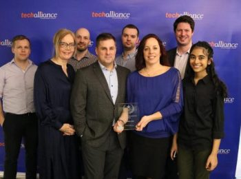 Ontario SEO wins Techcellence Community Engagement Award with Innovative web-based tool.