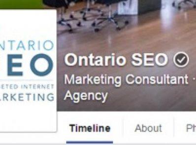Ontario SEO Facebook Verification