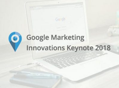 Google Marketing Innovations Keynote 2018