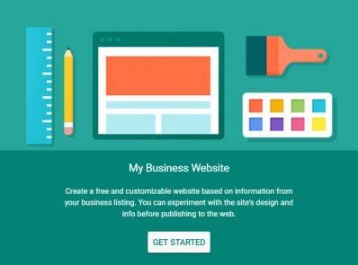 Google's Get Your Business Online