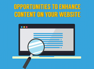 Opportunities to Enhance Your Website Content