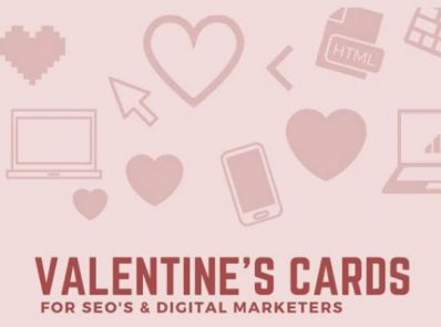 Valentine's Cards for SEOs and Digital Marketers