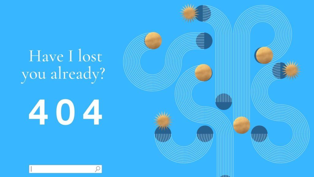What is a custom 404