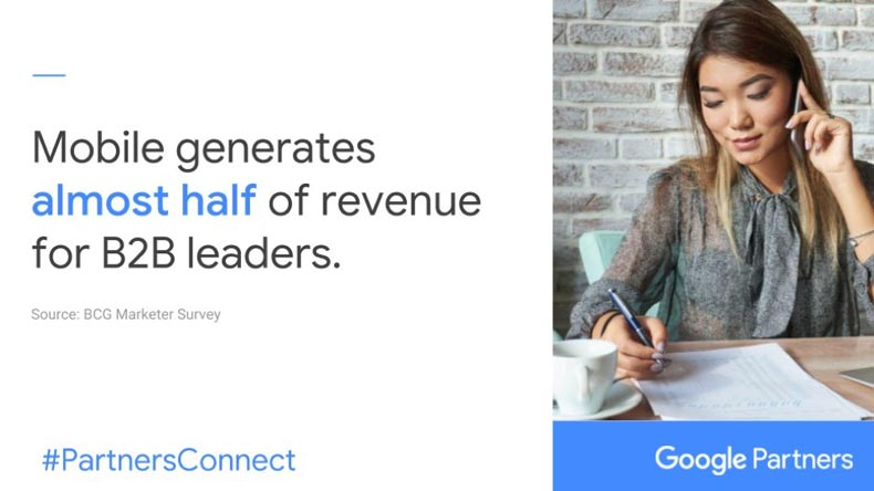 Mobile Generates Almost Half of Revenue for B2B Leaders
